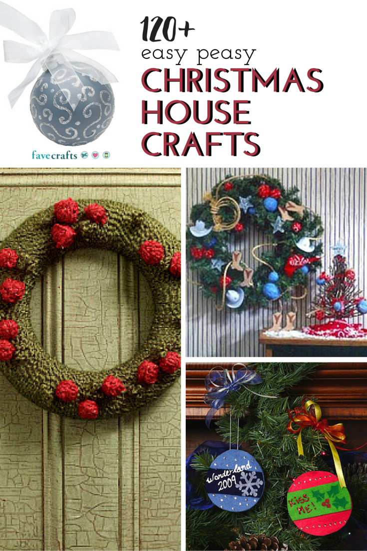 123 Easy Christmas Crafts for Adults Easy christmas