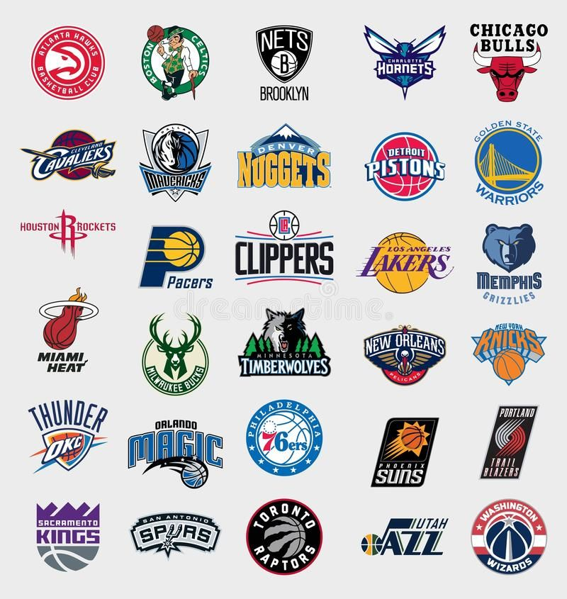 Nba Teams Logos Vector Logos Collection Of The 30 National Basketball Associati Aff Vector Collection N Nba Basketball Teams Nba Teams Team Wallpaper