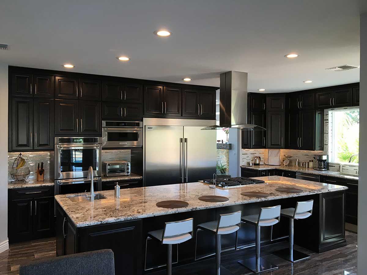 Beautiful Las Vegas Kitchen Remodel With Large Kitchen