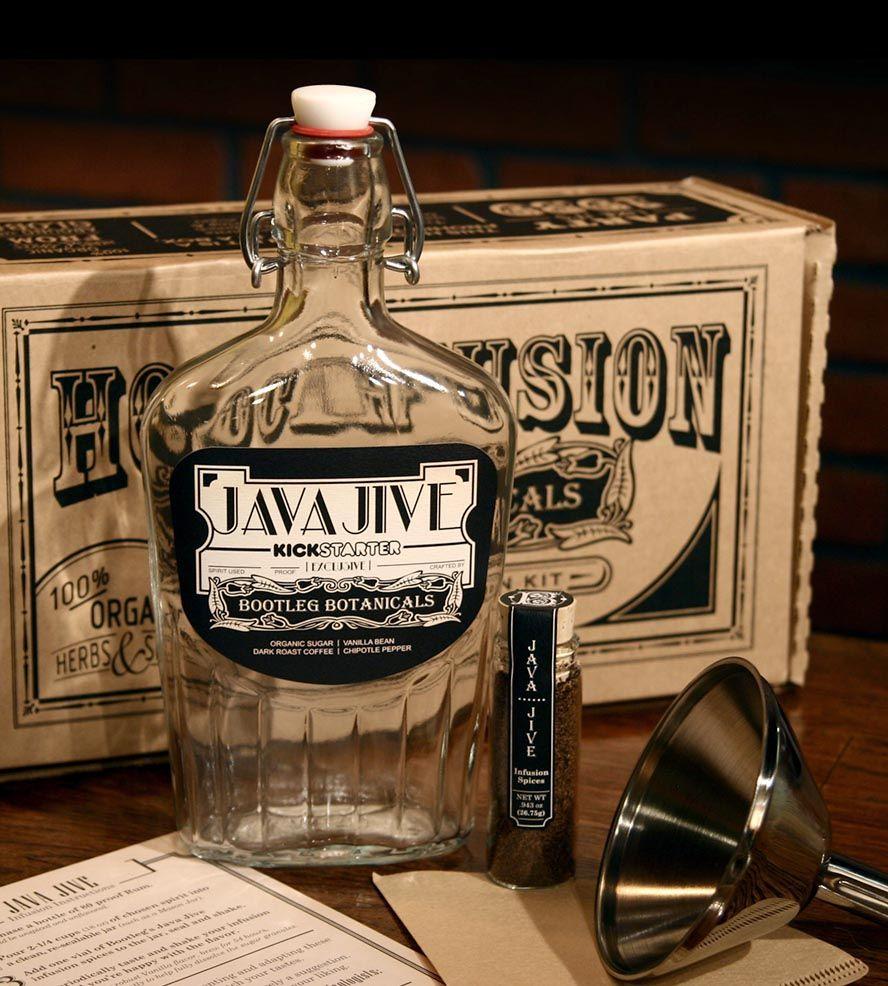 Coffee Liqueur Rum Infusion Kit Gin kit, Gin, Gin making kit
