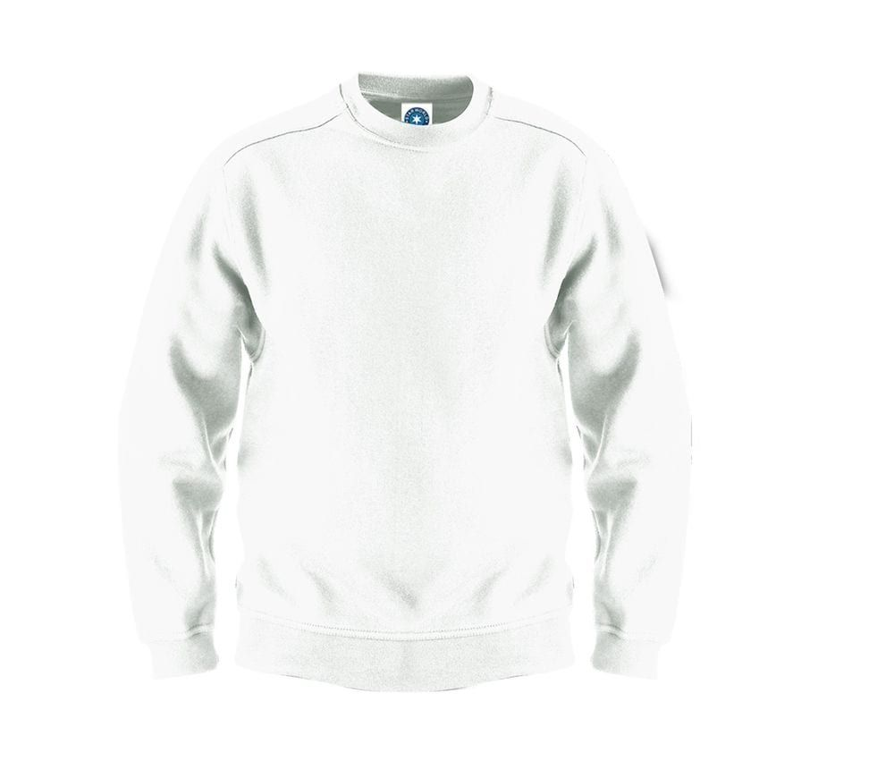 Sweat manches longues blanc – Starworld SW299 – Taille: S   – Products