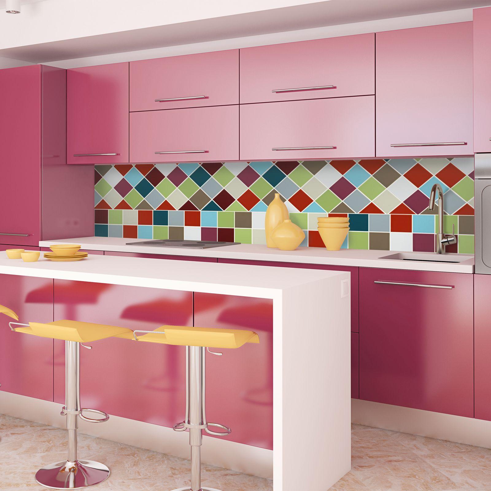 Image Result For Blue Kitchen Splashback Tiles