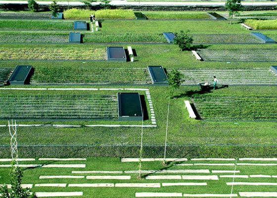 Green T: Giardino botanico di Bordeaux, Masbach Paysagistes, 2002