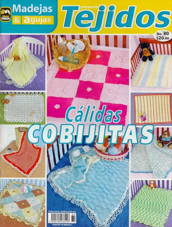 como hacer cobijas en crochet diagramas - Revistas de crochet y ...