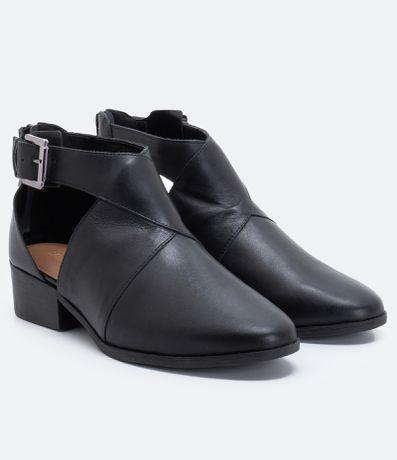 d770b40943 Sapato Feminino Abotinado Satinato em 2019
