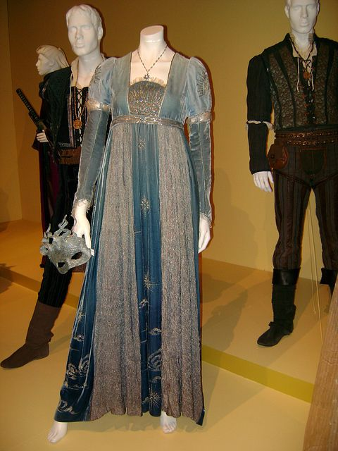 Rome and Juliet (2012).  FIDM movie costume exhibit.