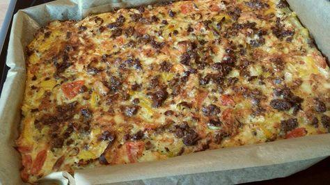 Schüttelpizza lowcarb – das einfachste Rezept ever!