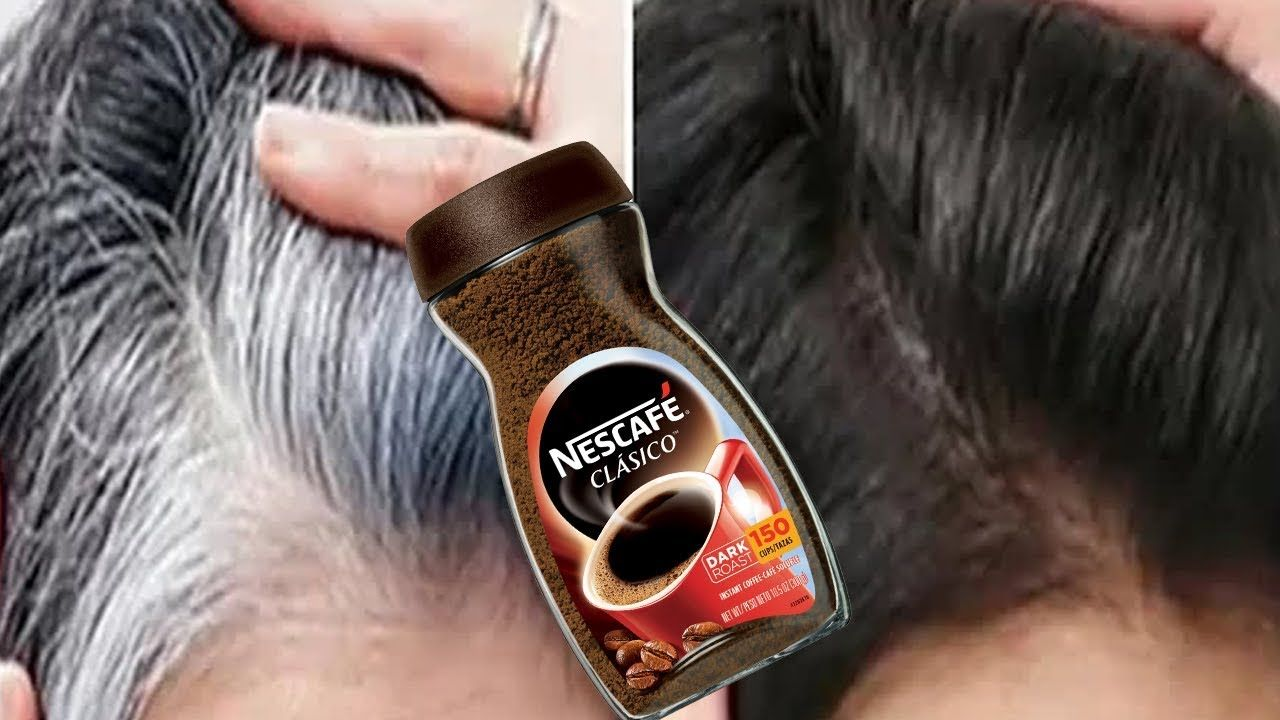White Hair To Black Permanently In 30 Minutes Naturally Coffee For Jet Black At Home 100 Works Youtube In 2020 Black Hair Tips Coffee Hair Remedy For White Hair