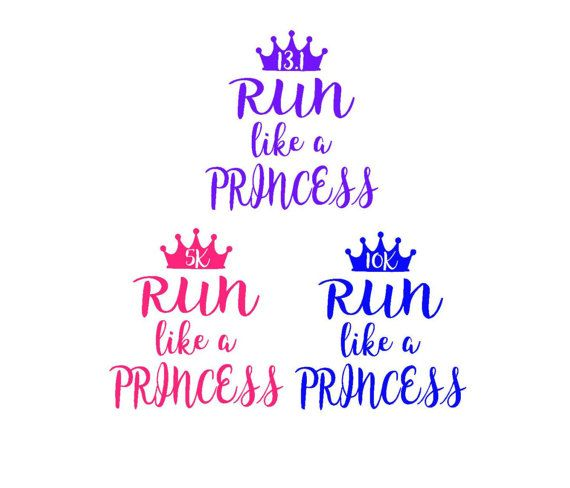 Run like a princess