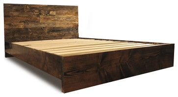 Platform Bed Frame And Headboard Set Dark Walnut California King Modern Platform Beds Simple Bed Frame Wood Platform Bed Frame Bed Frame And Headboard