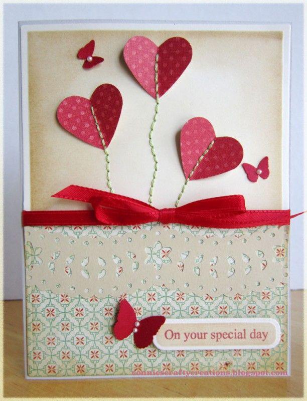 Splitcoaststampers FOOGallery - Heart flowers