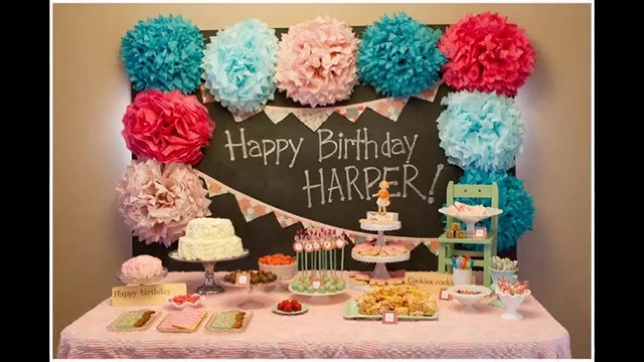 Best ideas Baby boy first birthday party decoration