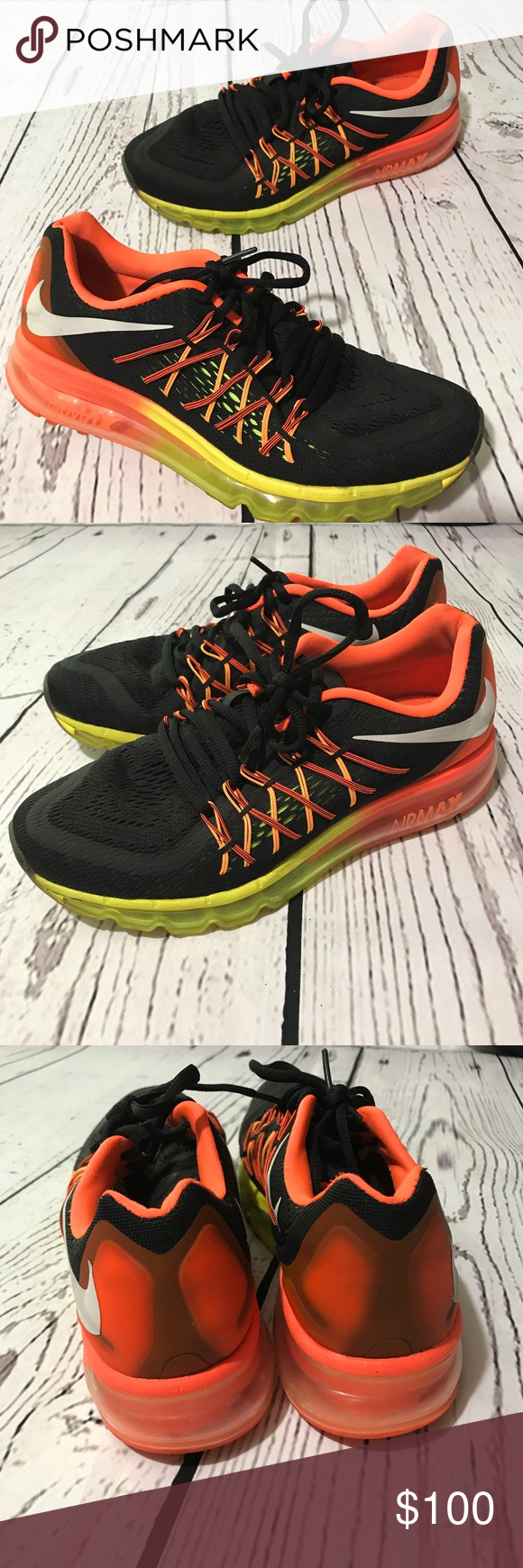 size 40 bddea 372e6 Nike Air Max 2015 Youth Size 7Y (women 8) Like NEW Nike Air Max 2015 Youth  Size 7Y (women 8) Used, only worn once, Excellent Condition Like New!!!