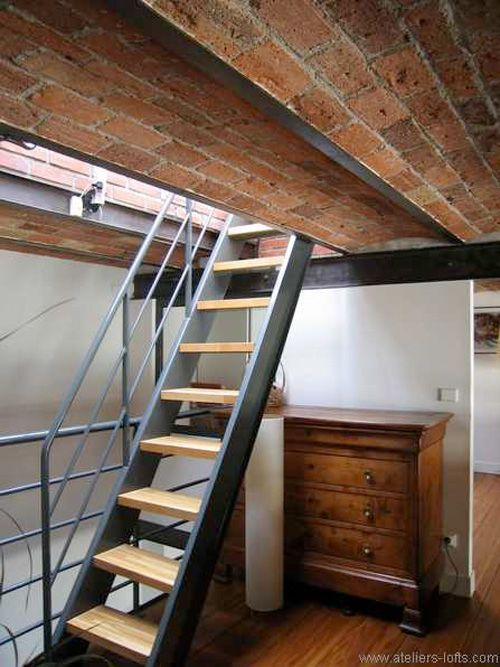 27 stair design ideas to organize your loft things i like pinterest treppe dachboden und. Black Bedroom Furniture Sets. Home Design Ideas