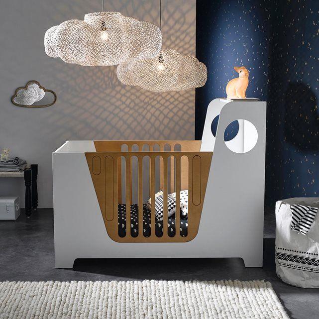 Miroir nuage laiton l45 x h26 cm, Zicowi | Chambre bébé ...