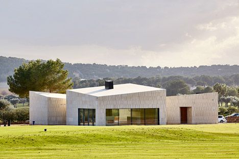 Golf Clubhouse Designed By GRAS To Resemble