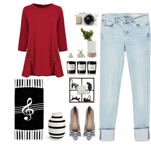 Casual Women 3/4 Sleeve O-Neck Irregular Hem Pure Color Buttons Cotton T-shirts
