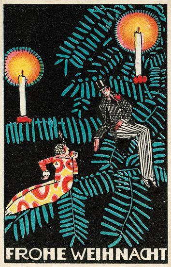 Wiener Werkstätte Holiday Cards