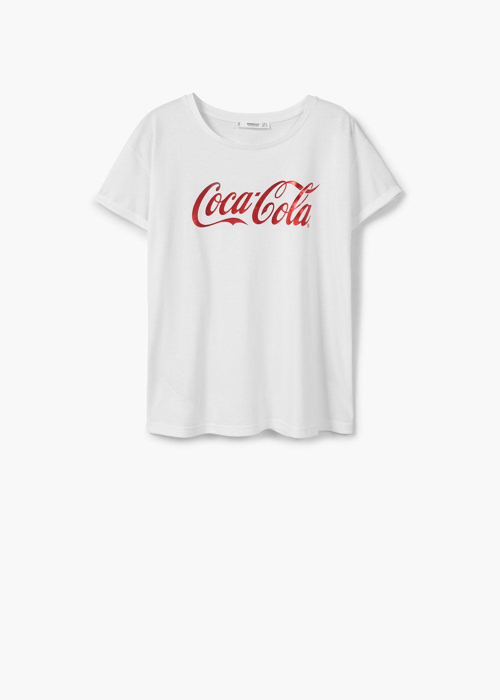 a90afdd8958dc8 Camiseta coca-cola - Mujer en 2019 | Estilo | Coca cola, Camisetas y ...