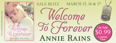 Tome Tender: Sale Blitz for WELCOME TO FOREVER by Annie Rains