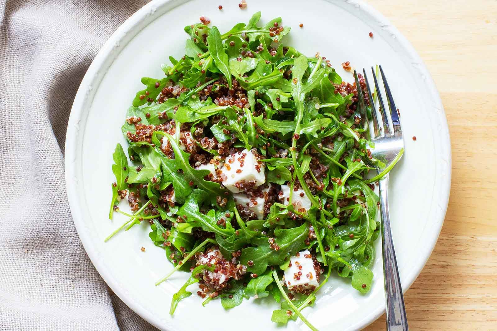 Light And Easy Side Salad And So Pretty Perfect With Chicken Fish Or Steak Feta Salad Feta Salad Recipe Simply Recipes