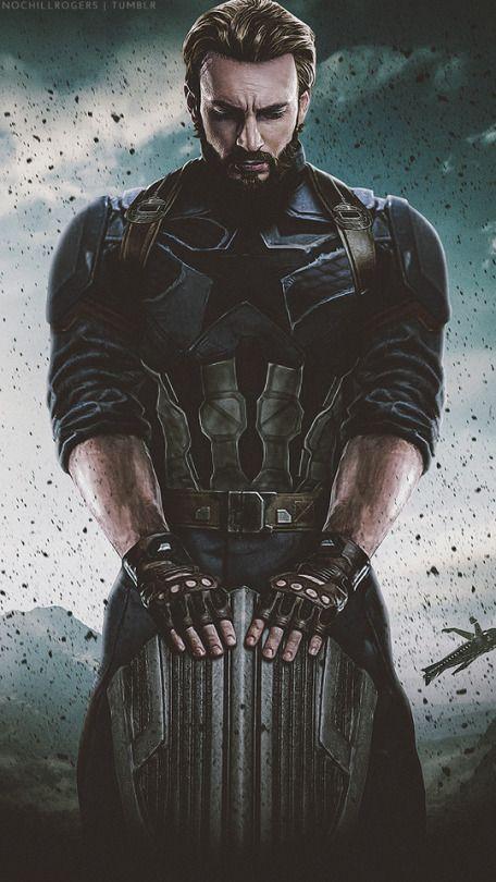 Steve Rogers Poster For Avengers Infinity War 2018