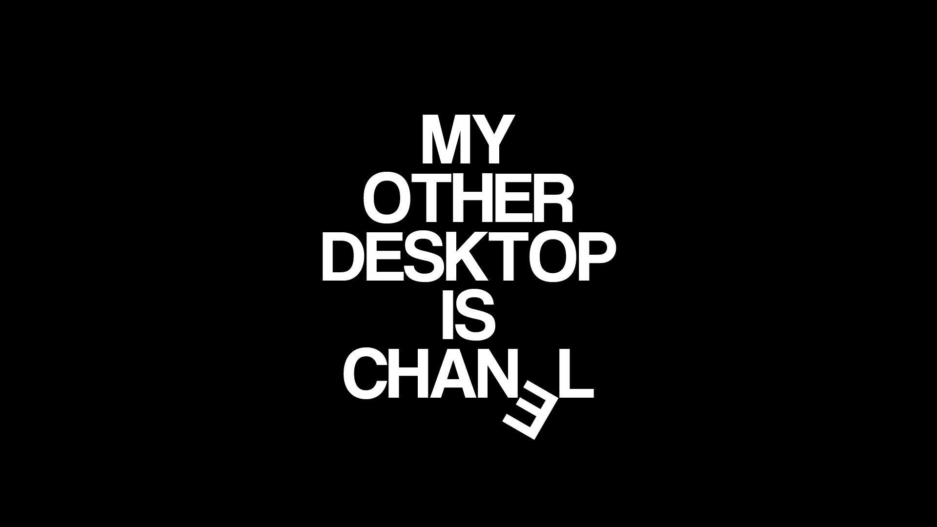 Black white Other Desktop Chanel wallpaper background   Chanel ... c8cf0ba377e