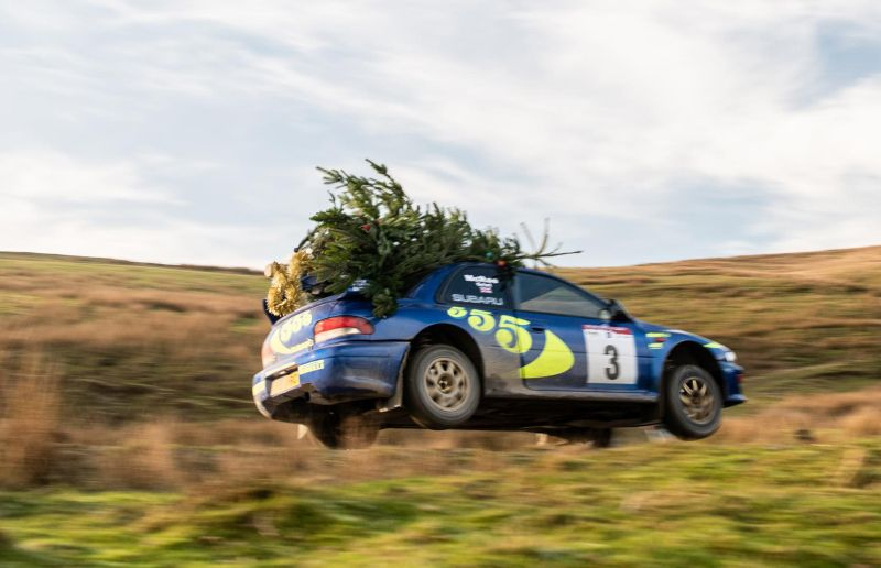 Rally Motor Credit >> Forgot The Christmas Tree Grab A Subaru Rally Car Pro Rally I