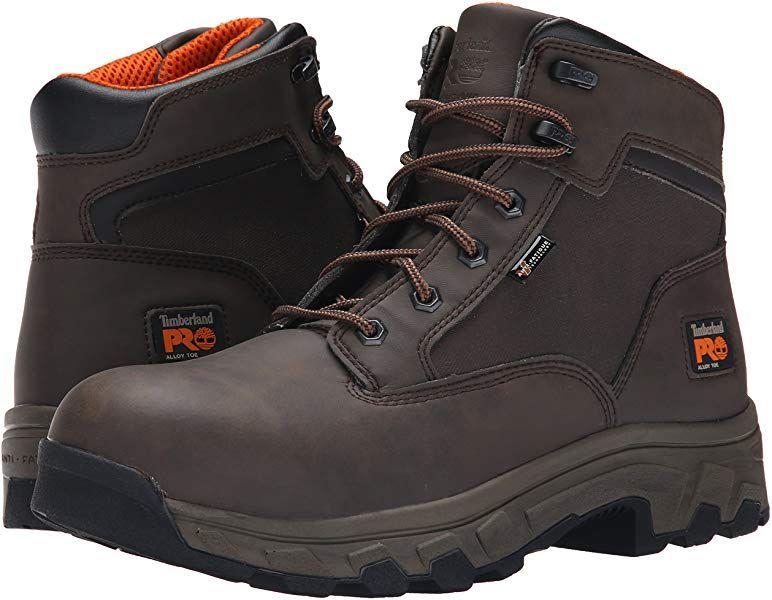 e2347b02790 Amazon.com: Timberland PRO Men's 6 Inch Linden Alloy Toe Work Boot ...