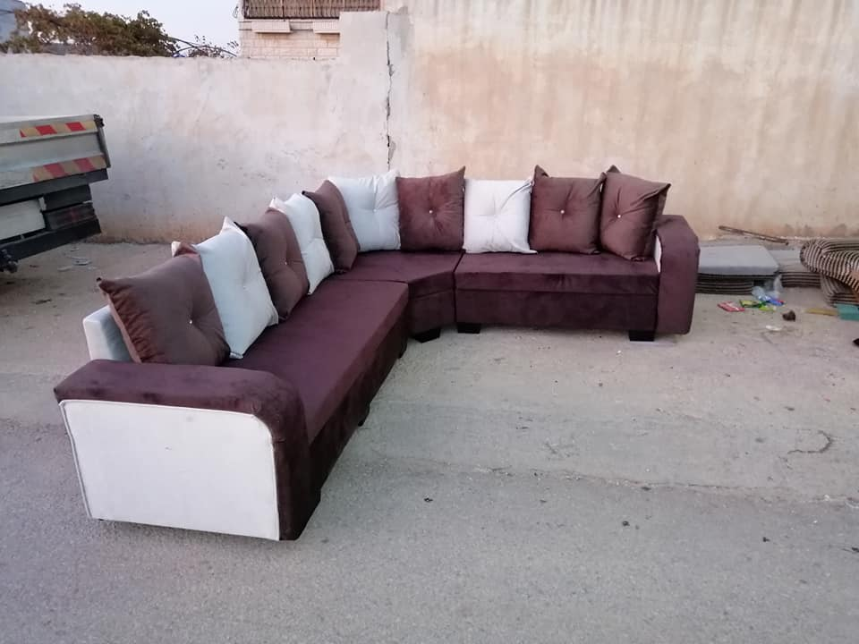 طقم كنب سوري 7 مقاعد سوق البلد Sectional Couch Couch Decor