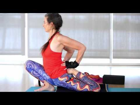 hip flexibility yoga flow with ana forrest  forrest yoga