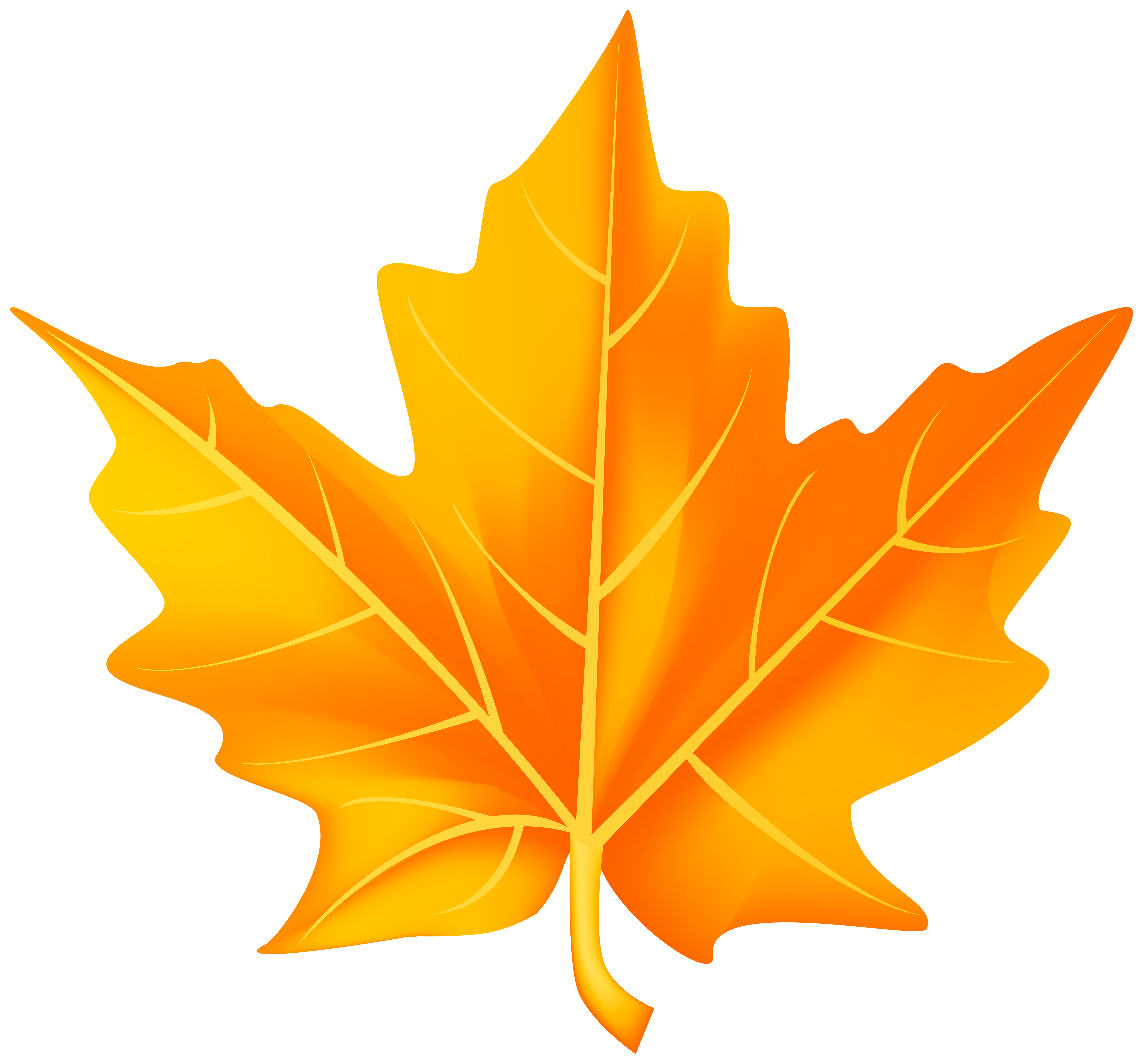 Orange Fall Leaf Png Clipart Gallery Yopriceville High Quality Images And Transparent Png Free Clipart Fall Leaves Png Fall Leaves Images Autumn Leaves