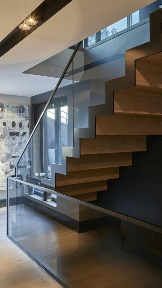 Best Zig Zag Staircase Stairs Design Modern Glass Staircase 400 x 300