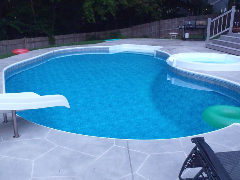 Pin By Danielle On Backyard Pool Liners Pool Houses