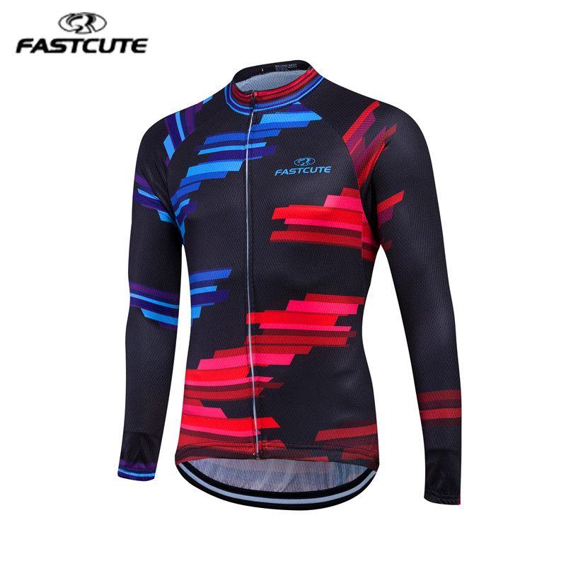 f0e262d59 XS-3XL 2017 Long Sleeve Pro Cycling Jerseys Men Mtb Clothing Bicycle Maillot  - US  14.89