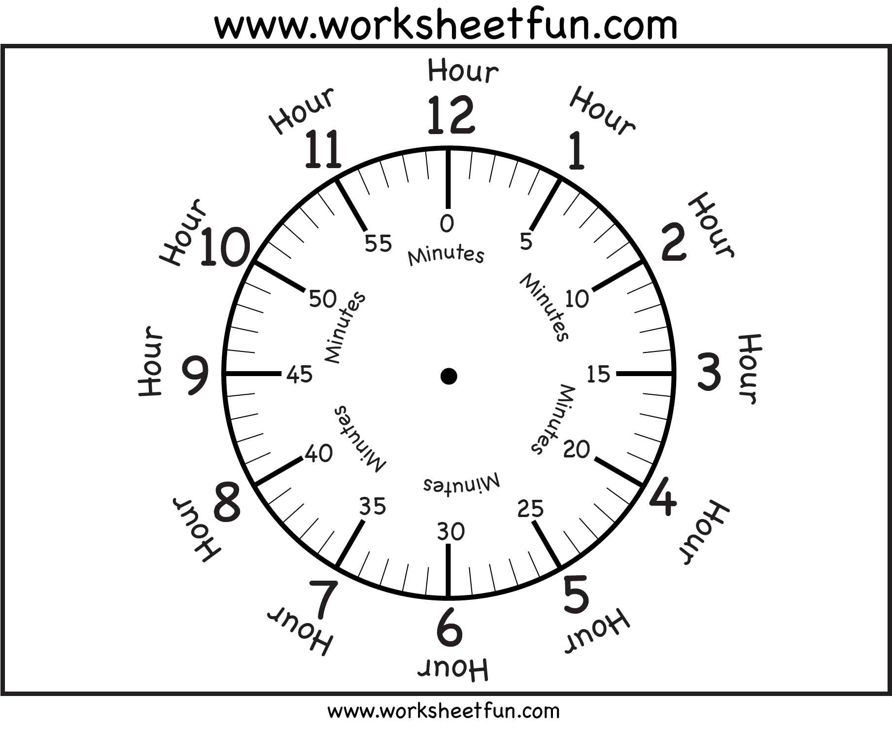 worksheet Printable Clock Worksheets 1000 images about time worksheets on pinterest the long timeline and clock faces