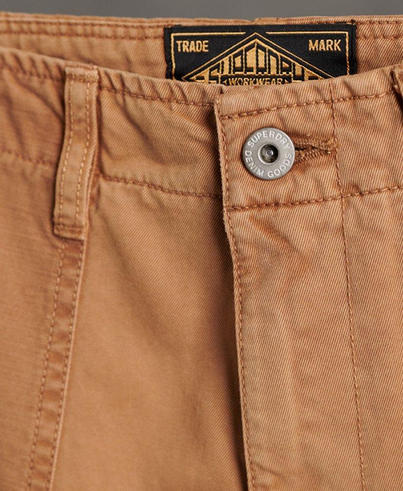 Superdry Pantalon Corto De Lona Fatigue Pantalones Cortos Para Hombre Pantalones Cortos Hombre Pantalones Cortos Pantalones