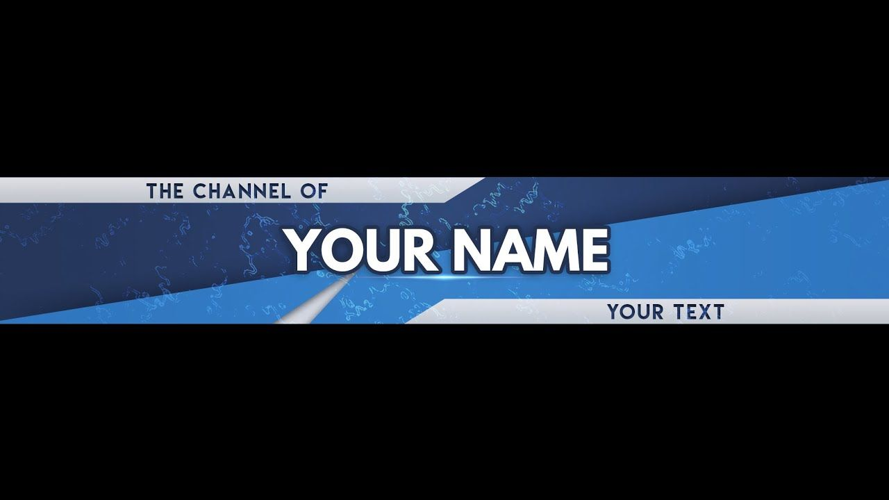 Free Banner Template For Youtube Channel 44 Photoshop Download 2020 Youtube Channel Art Youtube Banners Free Banner Templates
