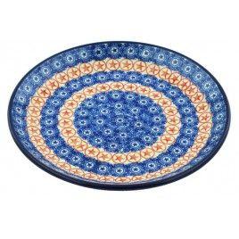 8 Inch Salad Plate By Ceramika Ceramika Artystyczna Boleslawiec