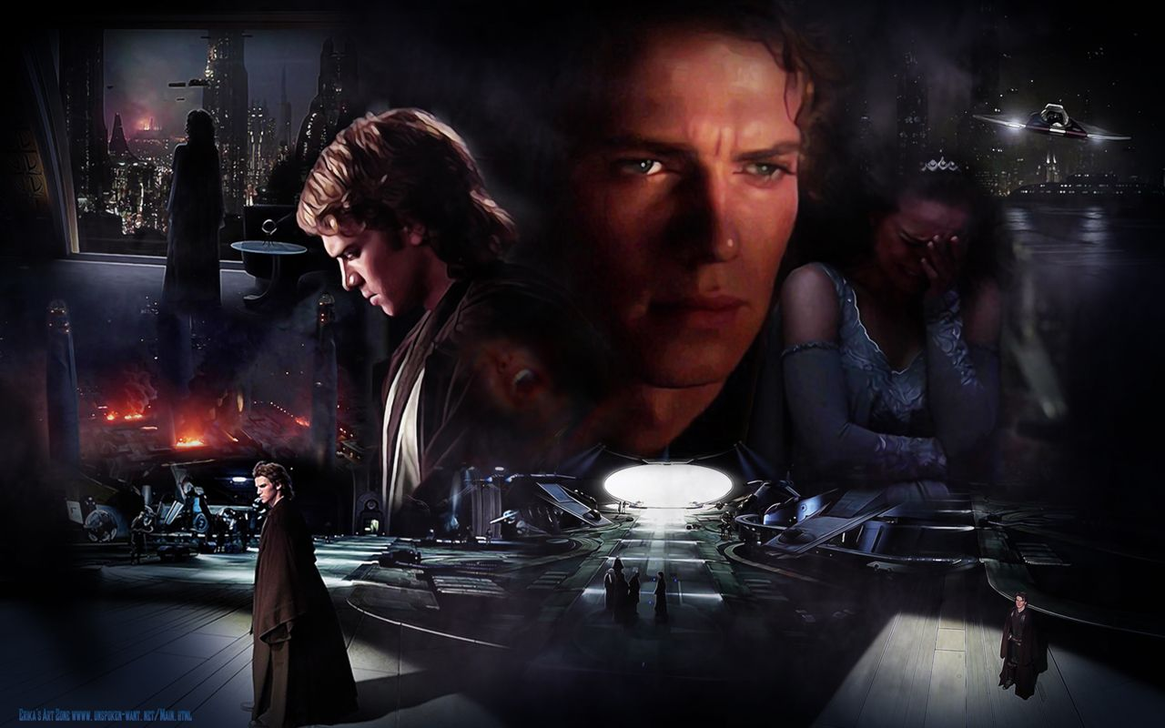Anakin and Padme Revenge of the Sith http://erikasartzone ...