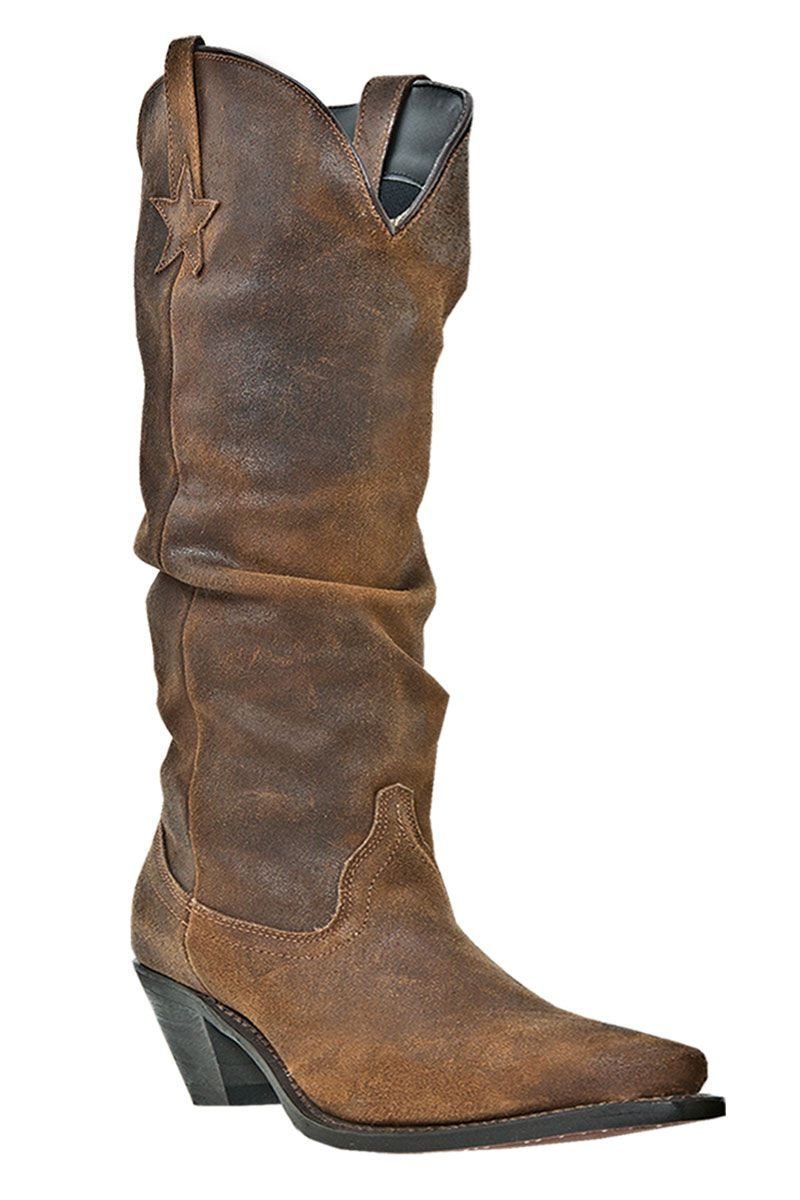 Dingo Women's Muse Tall Slouched Cowgirl Boots... I found them ...