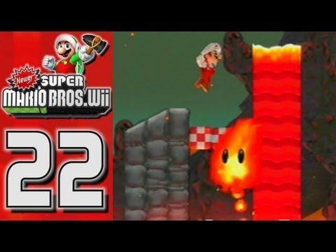 Newer Super Mario Bros Wii World 8 Koopa Planet Part 1 4