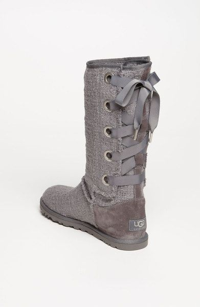 8c16626b9b7 Ugg Heirloom Boot in Gray (charcoal) | Shoes, yes please! | Ugg snow ...