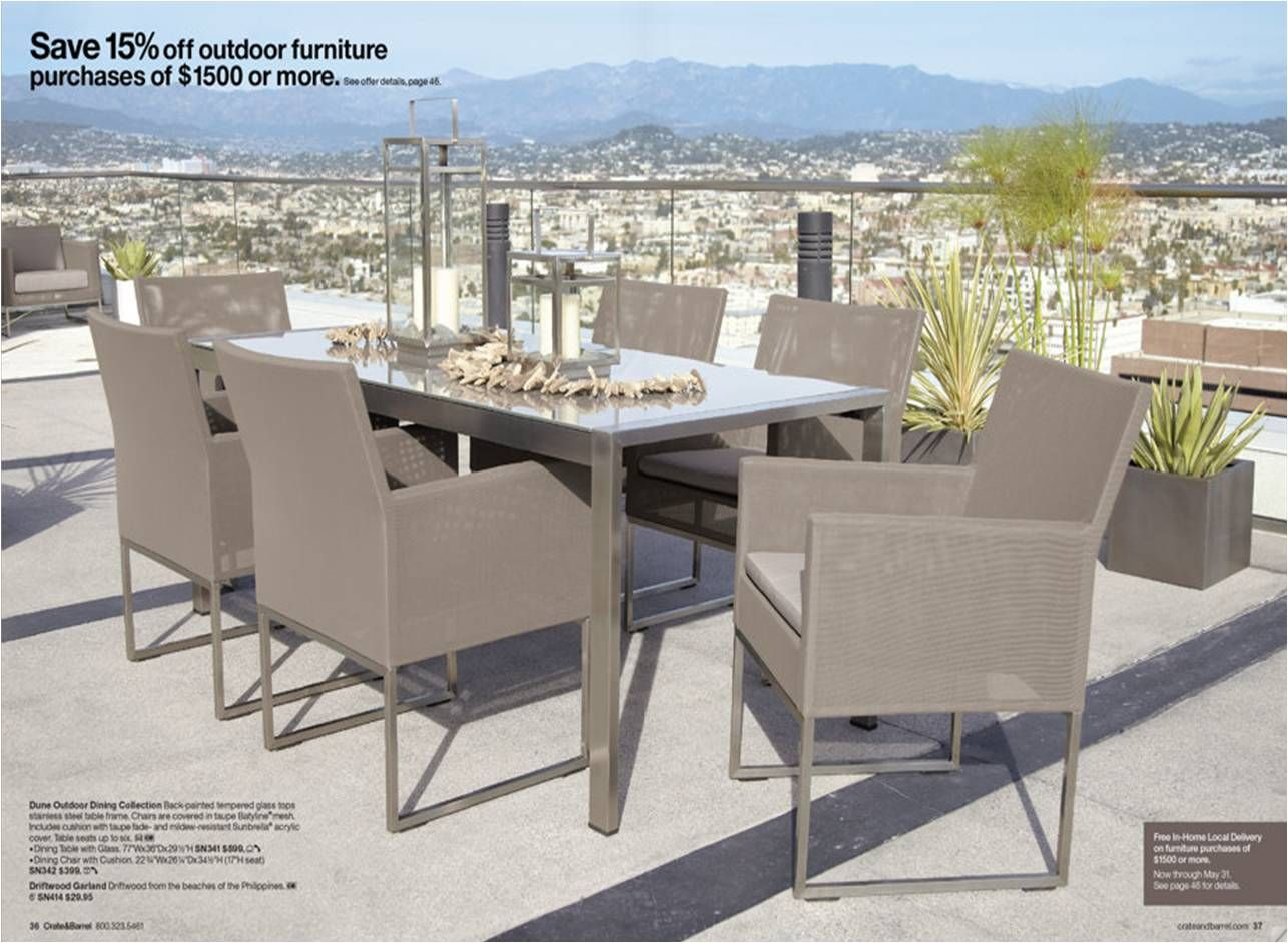 crate barrel outdoor furniture. Crate And Barrel Driftwood Garland - Google Search. Outdoor DiningDining TablesGlass Furniture N