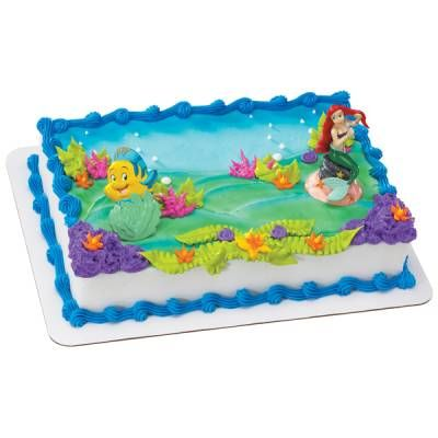 Background Of This Cake With Nemo And Dory On It