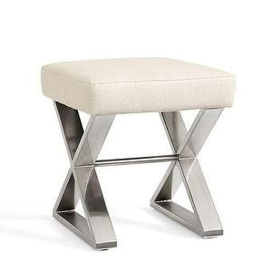 Seating   Ava X Stool | Pottery Barn   X Based Stool, X Based