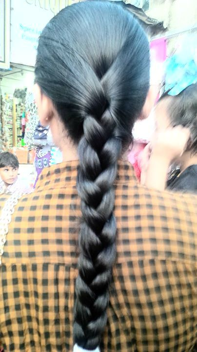 Simple Indian Braid For Oily Hair Hair Styles Braids For Long Hair Long Hair Pictures