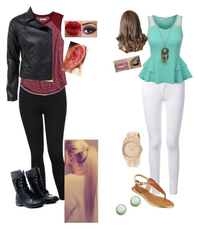 """Casual For Two"" by knobrien03 ❤ liked on Polyvore"