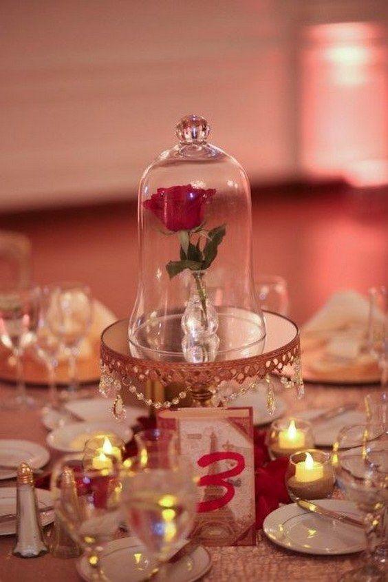 Gorgeous glass cloche bell jar wedding ideas