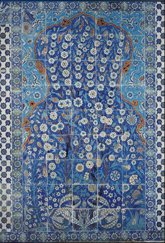 Emery cie tiles faux iznik examples tile for Carrelage emery bruxelles